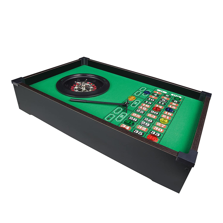 Benross Group Spielzeug 51 x 31cm Tischplatte Roulette Rad Set 80970