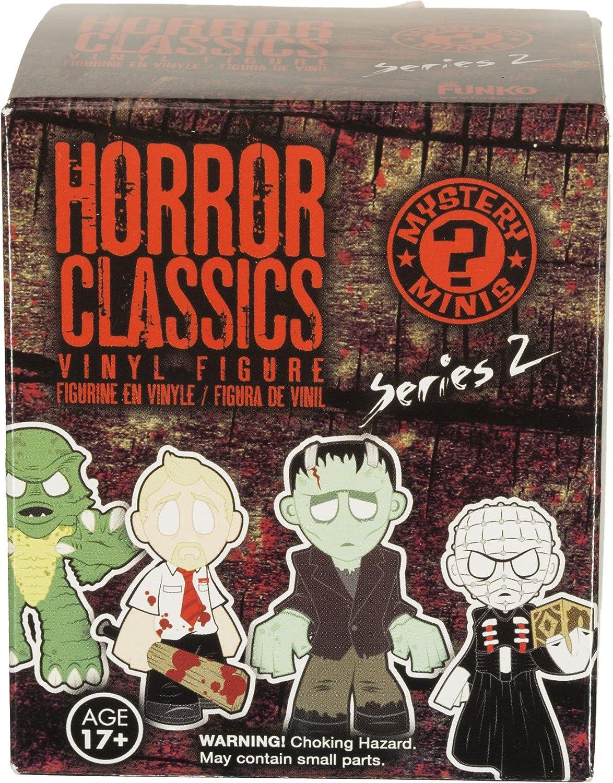 BCC9UAN 05870 - B Wave 2 Funko Nosferatu: ~2.8 x Horror Classics Mystery Minis Mini Vinyl Figure /& 1 Mystery Minis Compatible PET Plastic Graphical Protector Bundle