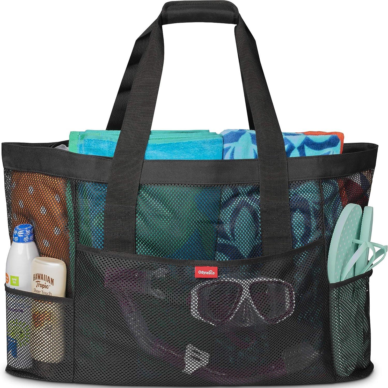 Large Beach Bag Tote Monogram Beach Bag Drawstring Beach Tote Bag Personalized Beach Tote Lime Green Beach Tote Bag Beach Towel Bag