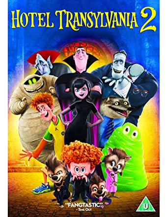Hotel Transylvania 2 DVD 2015