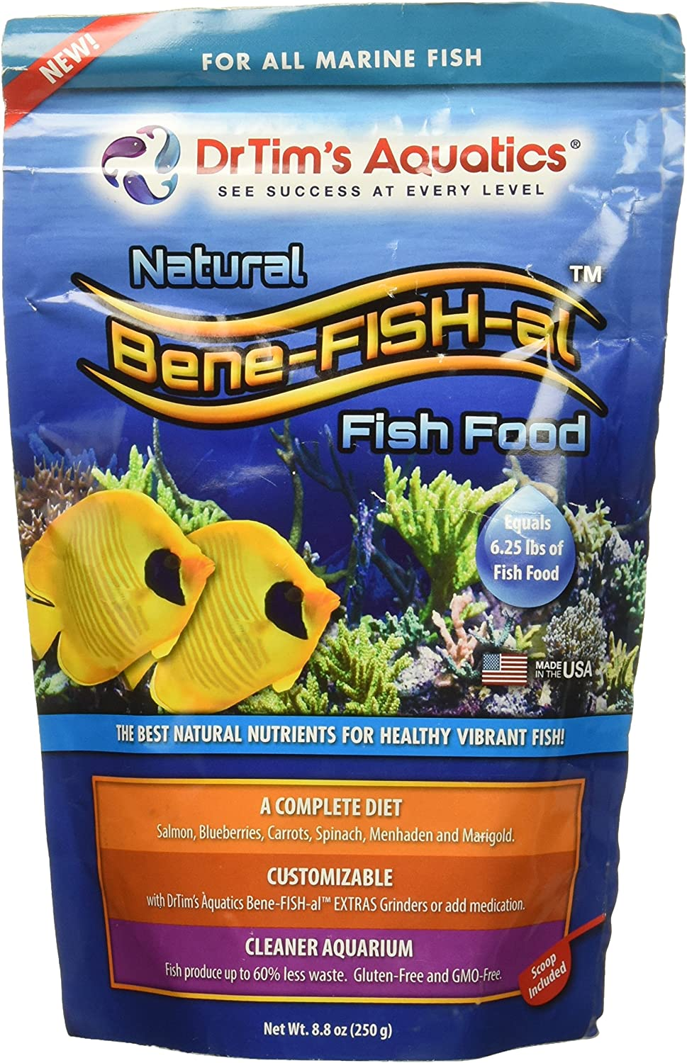 DrTim's Aquatics Marine Fish Food