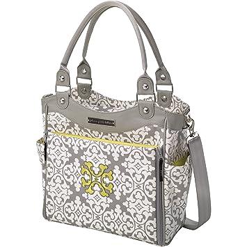 fc4ebeec9dc2 Amazon.com   Petunia Pickle Bottom City Carryall Diaper Bag in Breakfast in  Berkshire   Diaper Tote Bags   Baby