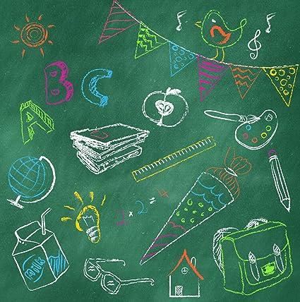 20 Servilletas Blackboard ABC - Multicolor/de pizarra ...