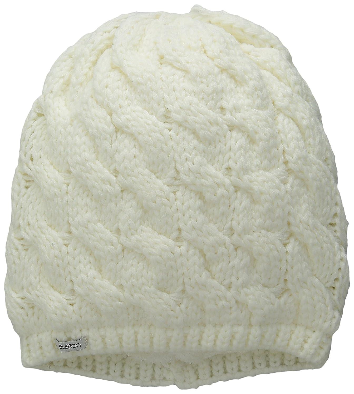 Burton Women's Birdie Beanie, Stout White, One Size 134201