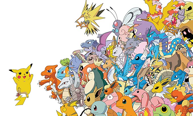 Pokemon A4 260gsm poster print