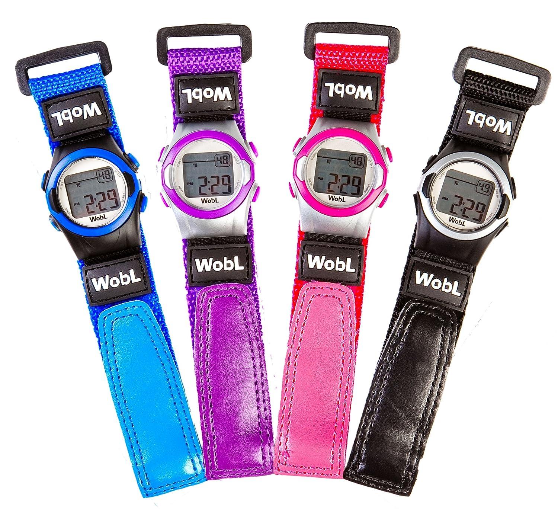 Wobl Watch - Reloj con 8 alarmas (con vibración, para controlar la transición de Orinal a Inodoro)