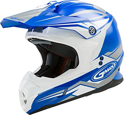 bb6ef5dc Amazon.com: GMAX MX-86 Adult Revoke Off-Road Motorcycle Helmet ...