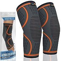 Deals on 2-Pack Modvel Knee Compression Sleeve