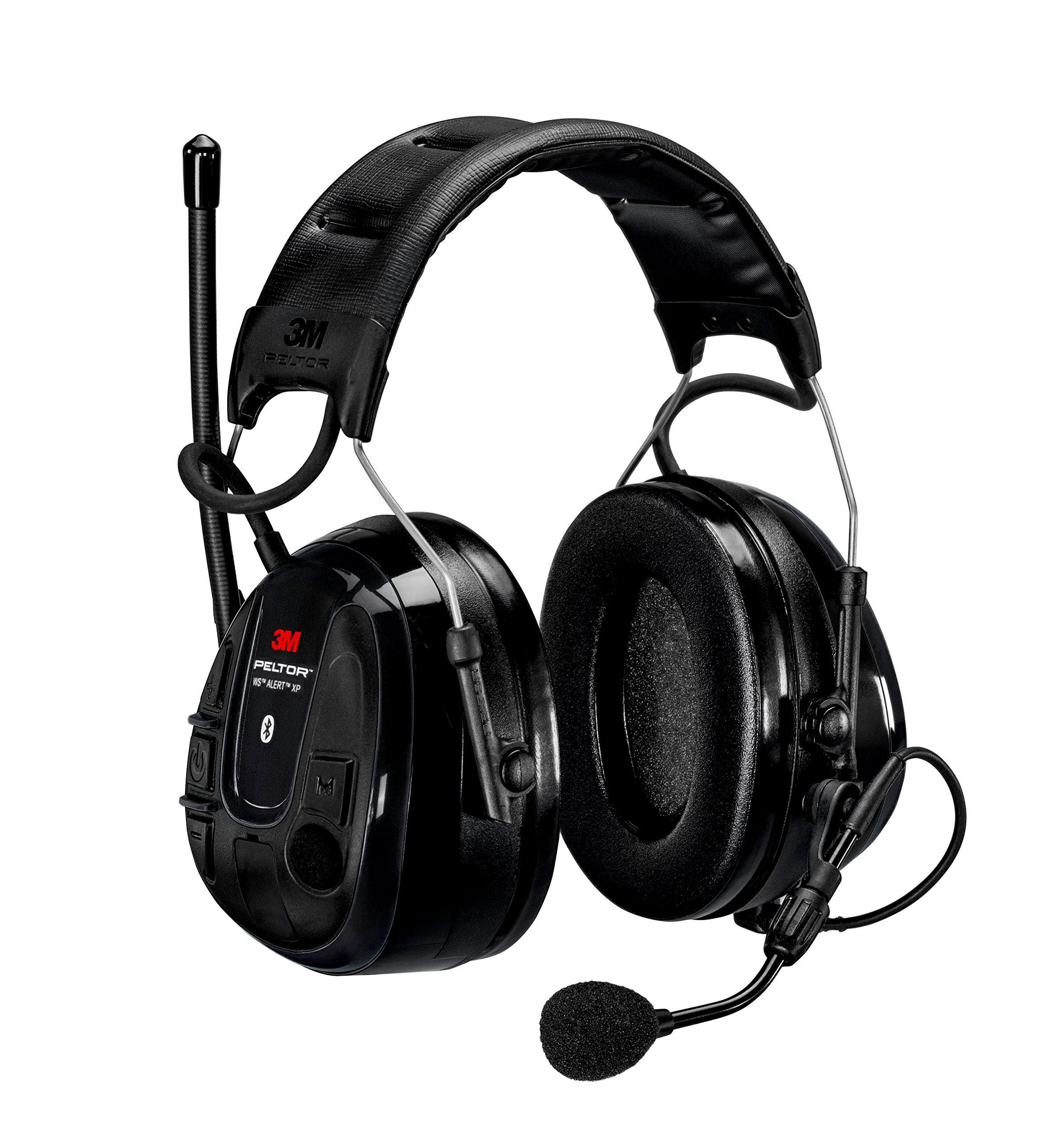 3M 48690 Peltor WS Alert XP, Headband, Capacity, Volume, NA, Standard, Black
