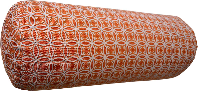 Tvamm-Lifestyle Yoga Cushion Special 65 x Diameter 22 cm Buckwheat Shell Filled