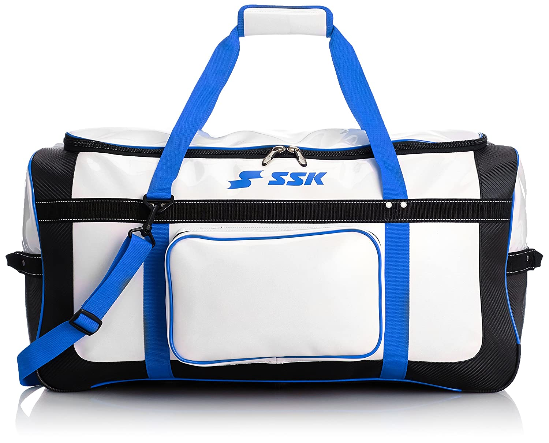 [エスエスケイ] SSK ヘルメット兼キャッチャー用具ケース B007RFTQU6 ホワイト×Dブルー ホワイト×Dブルー