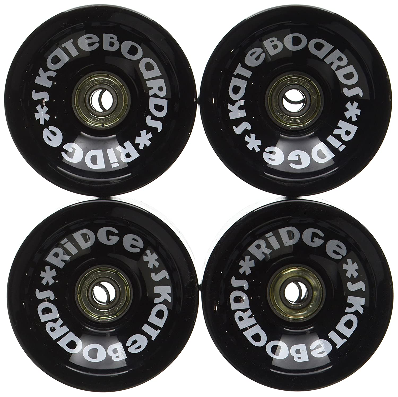 Ridge Skateboard Ruedas mm A PU skateboard ruedas incluye rodamientos ABEC juego