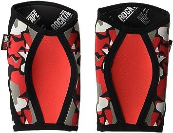 5277cb57a3 RockTape Unisex Assassins Knee Sleeves Red Camo 5 mm Knee Pads, Unisex,  ART002551,