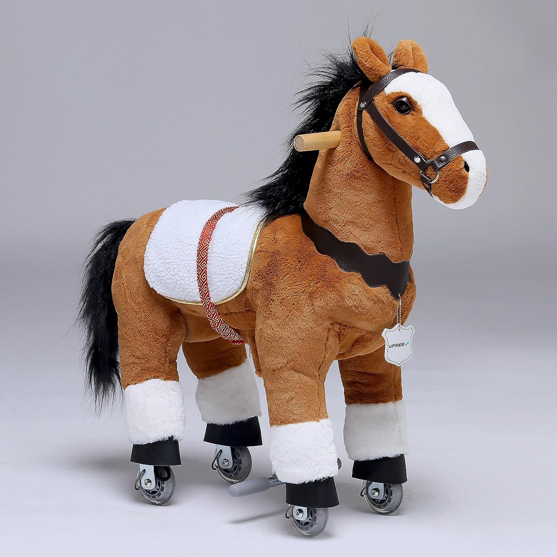 Amazon UFREE Horse Action Pony Walking Horse Toy Rocking