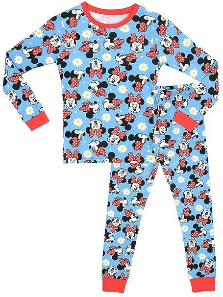 Disney Minnie Mouse - Pijama para niñas - Minnie Mouse - Ajuste Ceñido - 4 -