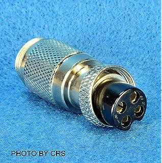 WORKMAN C4P4M CB RADIO MICROPHONE ADAPTER 4-Pin MIDLAND to 4-Pin COBRA