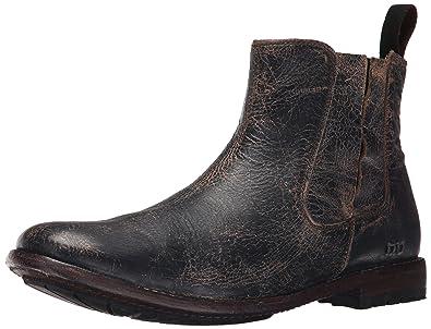 Bed|Stu Men's Taurus Chelsea Boot, Black Lux, ...