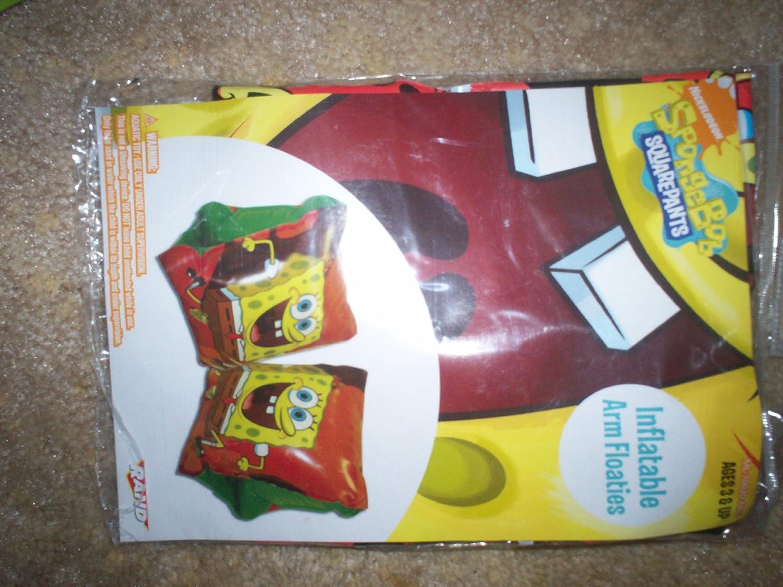 Amazon.com: Spongebob square pants hinchable Arm Floaties ...