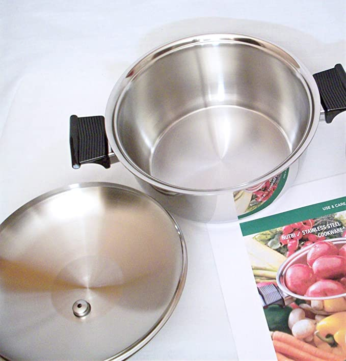 Amazon.com: West Bend RENA WARE Nutri Plex 5 Ply Stainless Steel 4 Quart 9 3/4