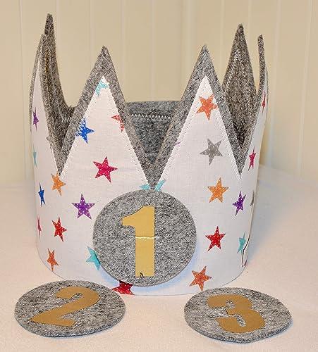 Corona de cumpleaños Der Wollprinz, corona para bebe y niño ...