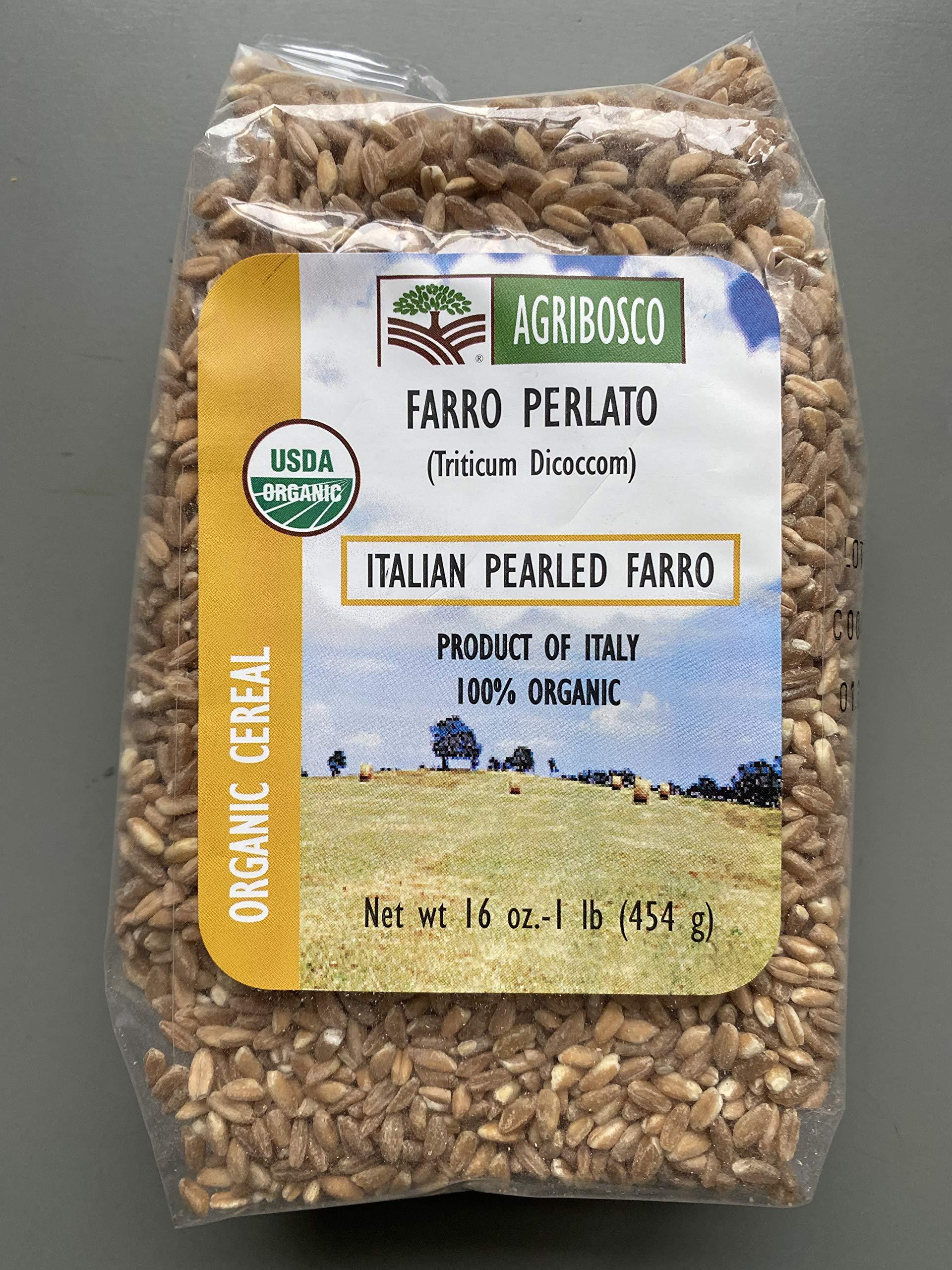 Organic Pearled Farro (1 pound)