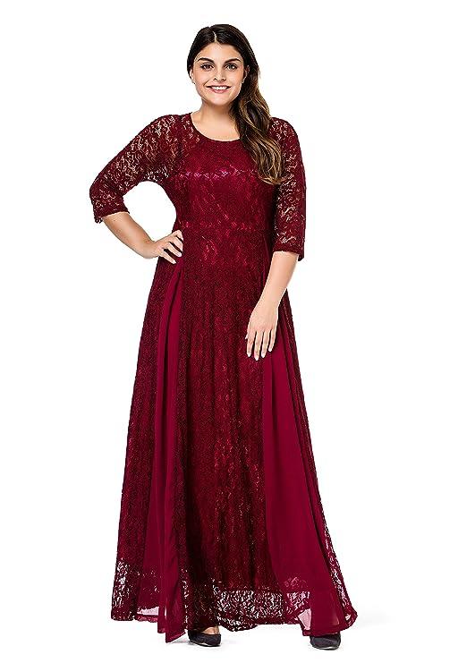 Review ESPRLIA Women's Plus Size