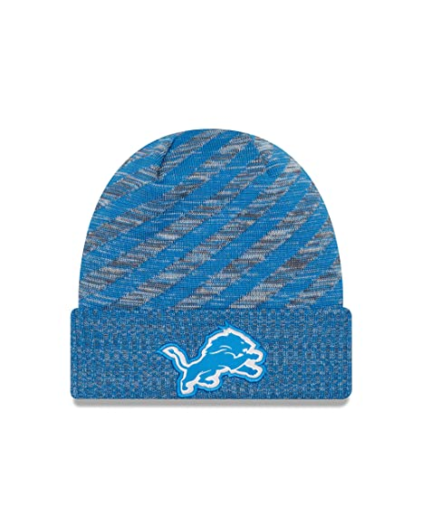 the best attitude 5f946 2ba1b Image Unavailable. Image not available for. Color  New Era Detroit Lions On Field  2018 TD Sport Knit Hat