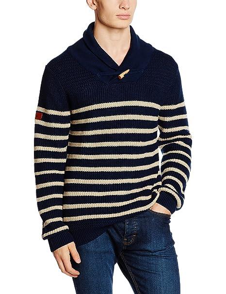 Spagnolo, Jersey Punto 0426 - Jersey para Hombre, Color Azul Marino, Talla S: Amazon.es: Ropa y accesorios