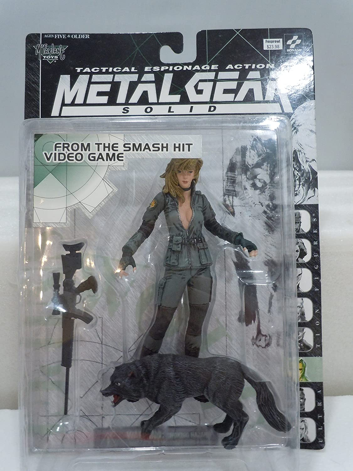 Metal Gear Solid > Sniper Wolf Action Figure