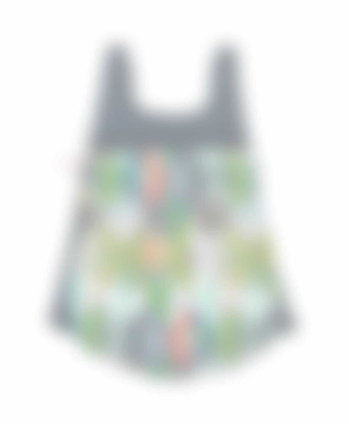 Mochila de tela Naturaleza, Mochila de tela gométrica, Mochila de tela botánica, Mochila tela hojas, Mochila hecha a mano, Mochila original para mujer, ...