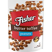 Fisher Snack FISHER Snack Butter Toffee Peanuts,  (Pack Of 6), 5.5 Ounce