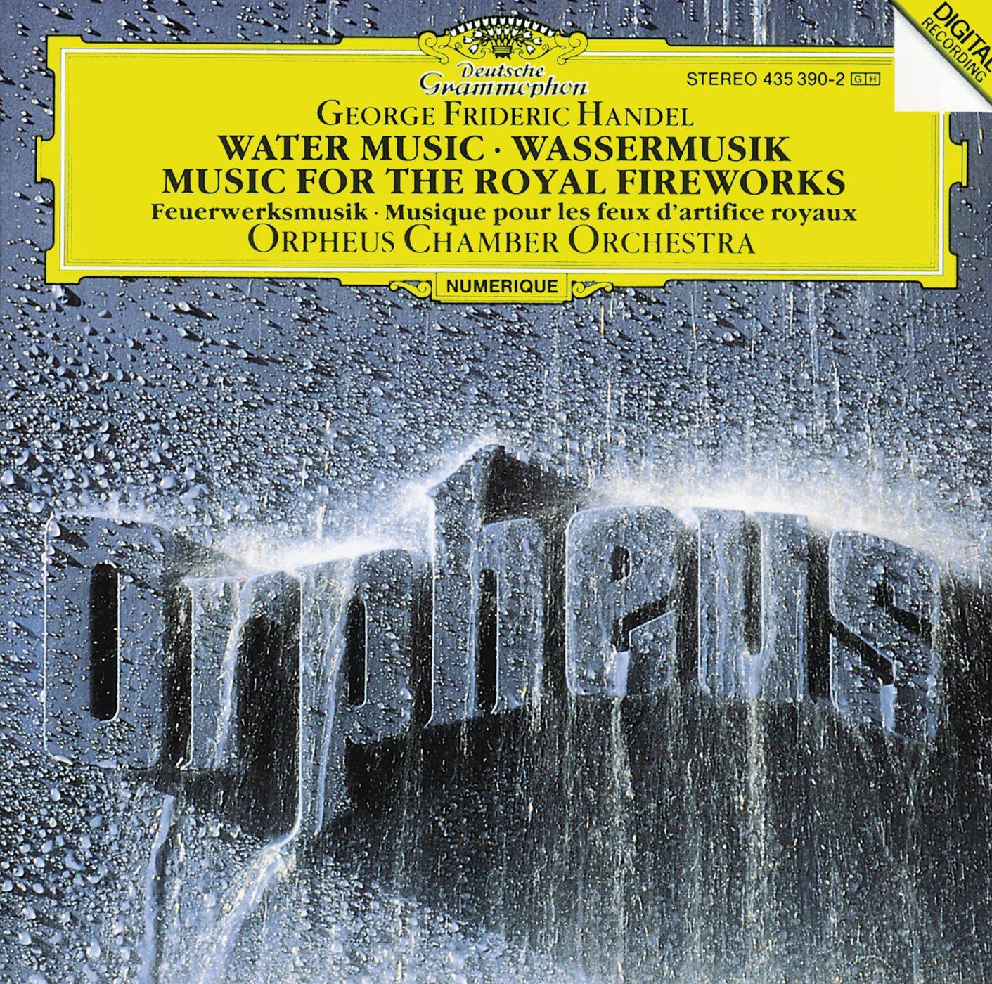 George Frideric Handel, Orpheus Chamber Orchestra - Handel: Water ...