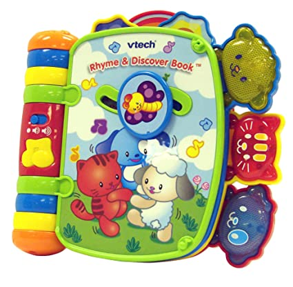 85b1a000d59 Amazon.com  VTech Rhyme and Discover Book (Frustration Free ...