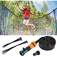 Fostoy Trampoline Sprinkler, 39FT/12 M Trampoline Sprinkler Slang Water Sproeier Trampoline Accessoires Fun Zomer…