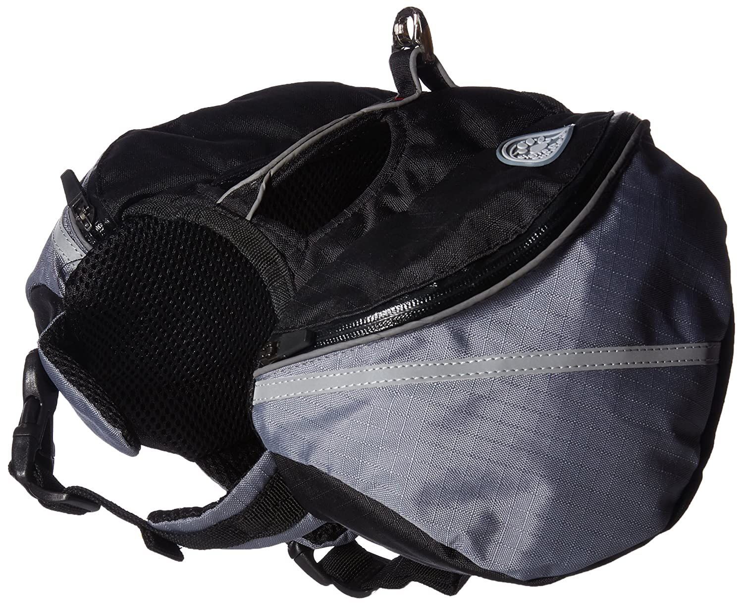 Doggles Dog Backpack, Extreme XS, Gray/Black BPEXXS-09