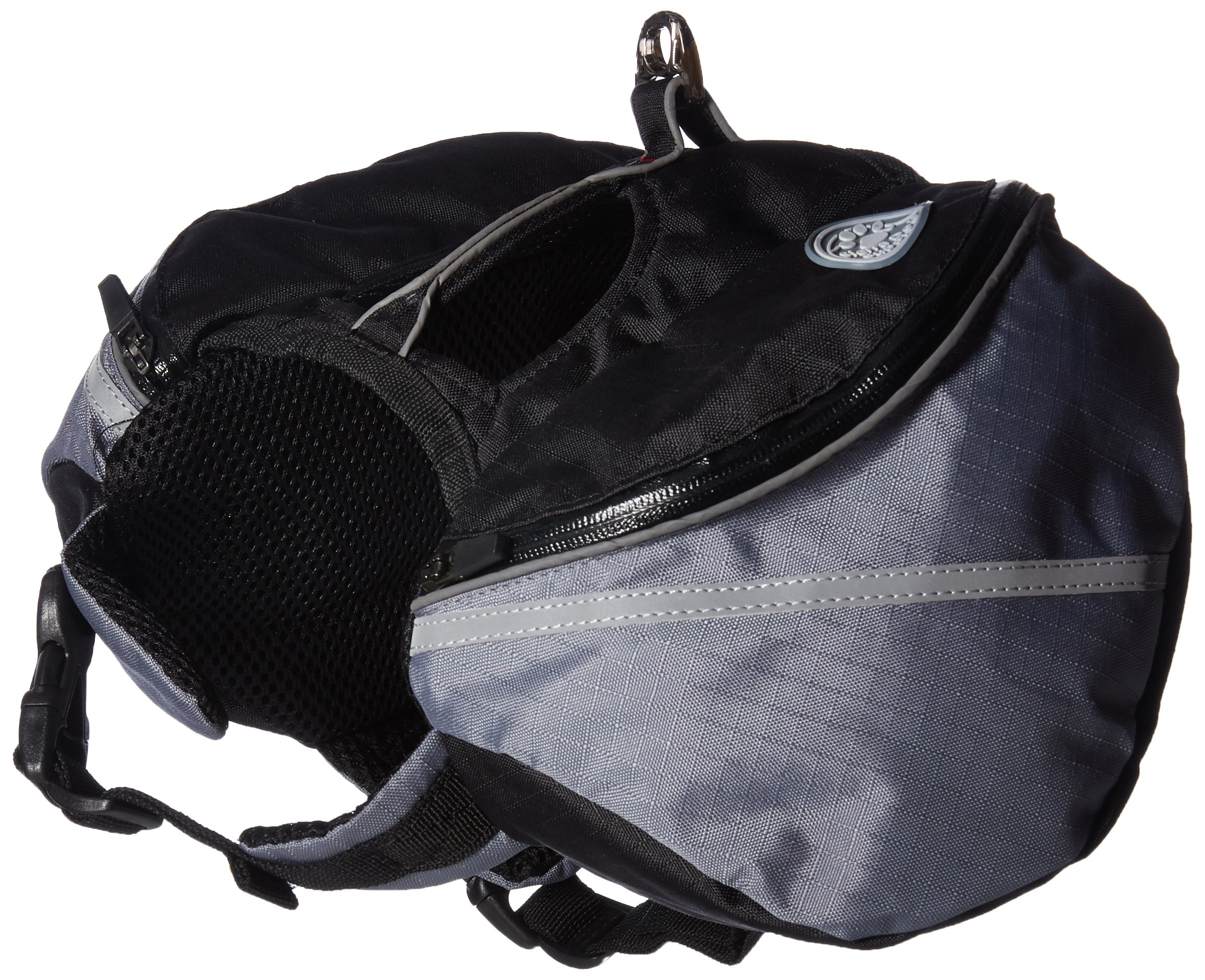 Doggles Dog Backpack, Extreme XS, Gray/Black