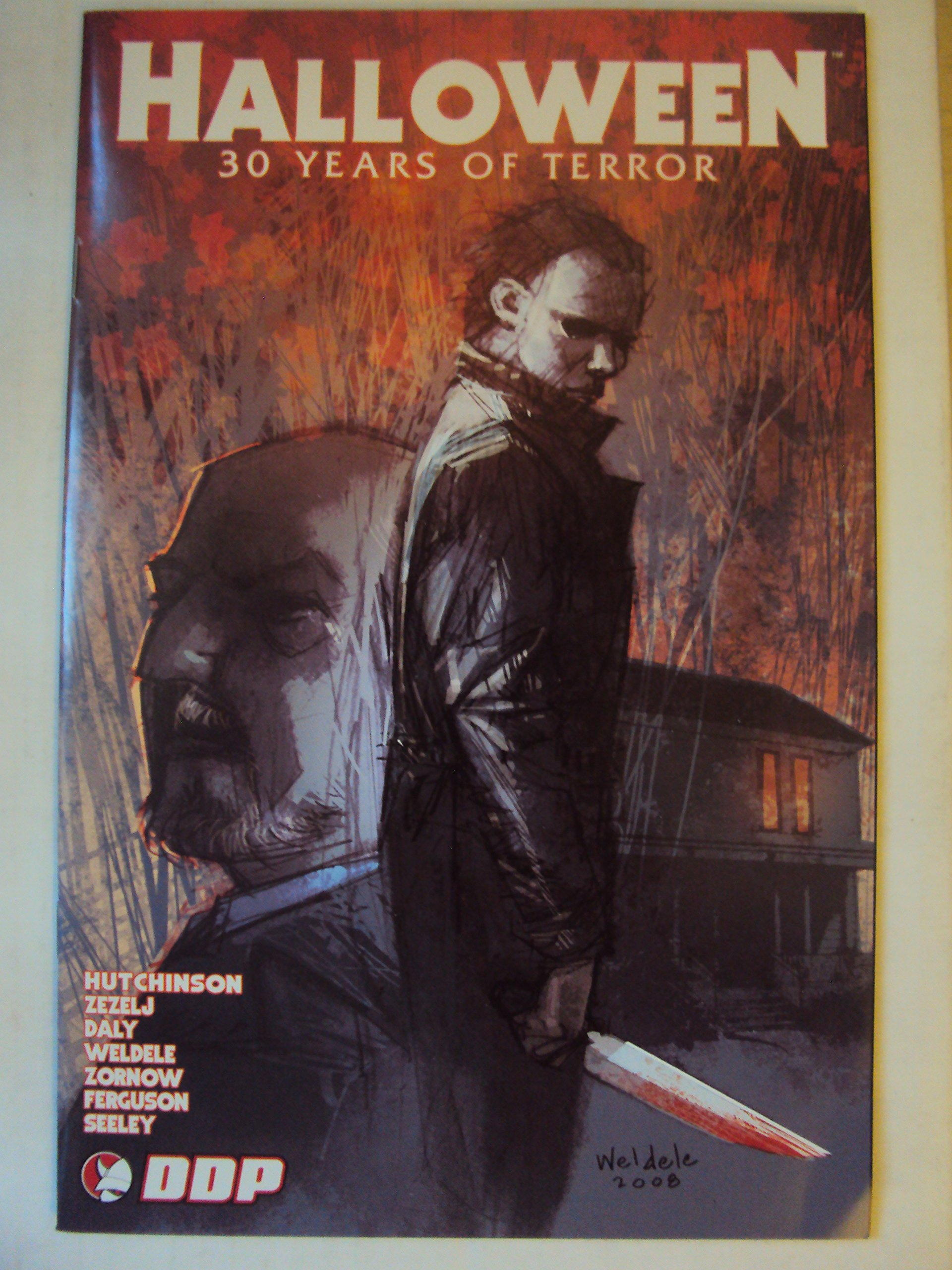 Download Halloween 30 Years of Terror Michael Myers Cover PDF