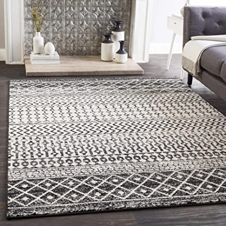 Amazon Com Artistic Weavers Chester Black Area Rug 2 X 3 Home Kitchen