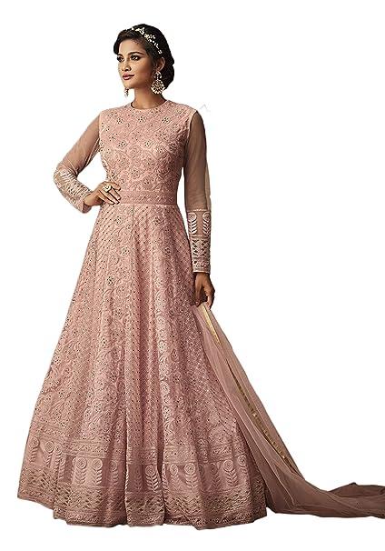 Indian anarkali salwar kameez suit designer pakistani ethnic wedding dressw
