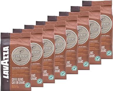 Lavazza Espresso Tierra Intenso, Café en Grano, pack de 8, 8 x 1000g: Amazon.es: Alimentación y bebidas