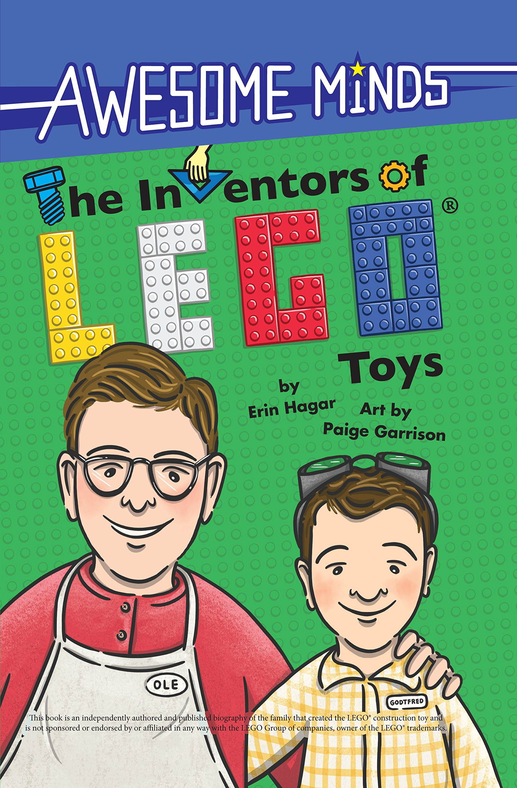 Download The Inventors of LEGO® Toys (Awesome Minds) pdf