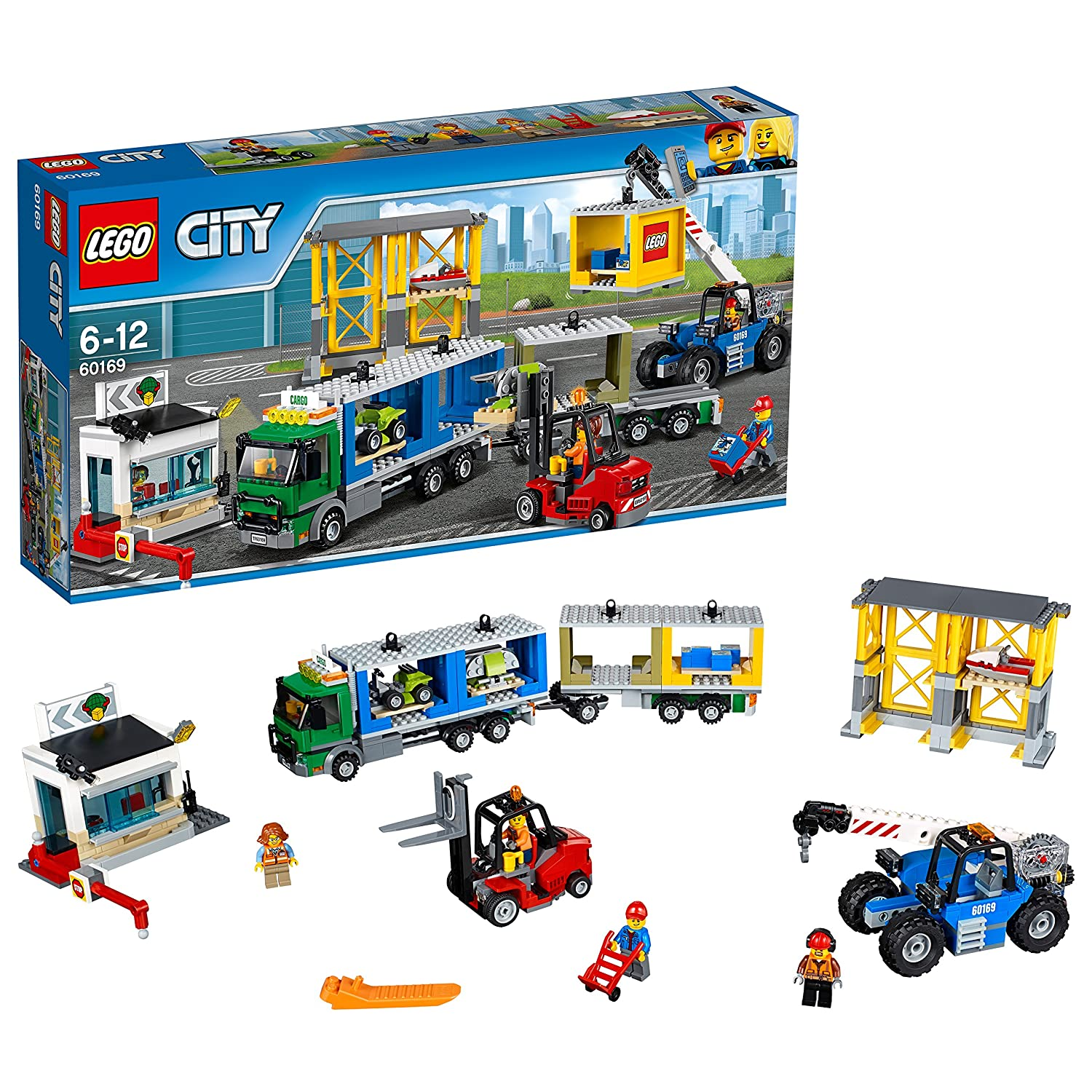 LEGO City Town Calendario de Adviento (6174567) 60155
