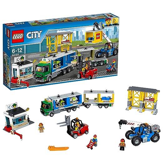 LEGO City Town - Tren De Mercancías (60198) + Terminal de ...