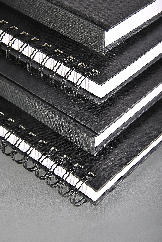 64 Blatt Wei/ß 140g Clairefontaine 34237C Skizzenbuch Goldline mit Doppelspirale