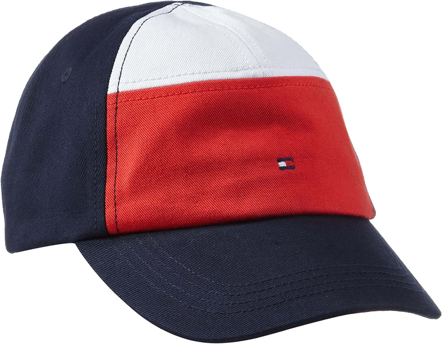 Tommy Hilfiger Colorblock Cap Gorra, Multicolor (Black Iris), X ...