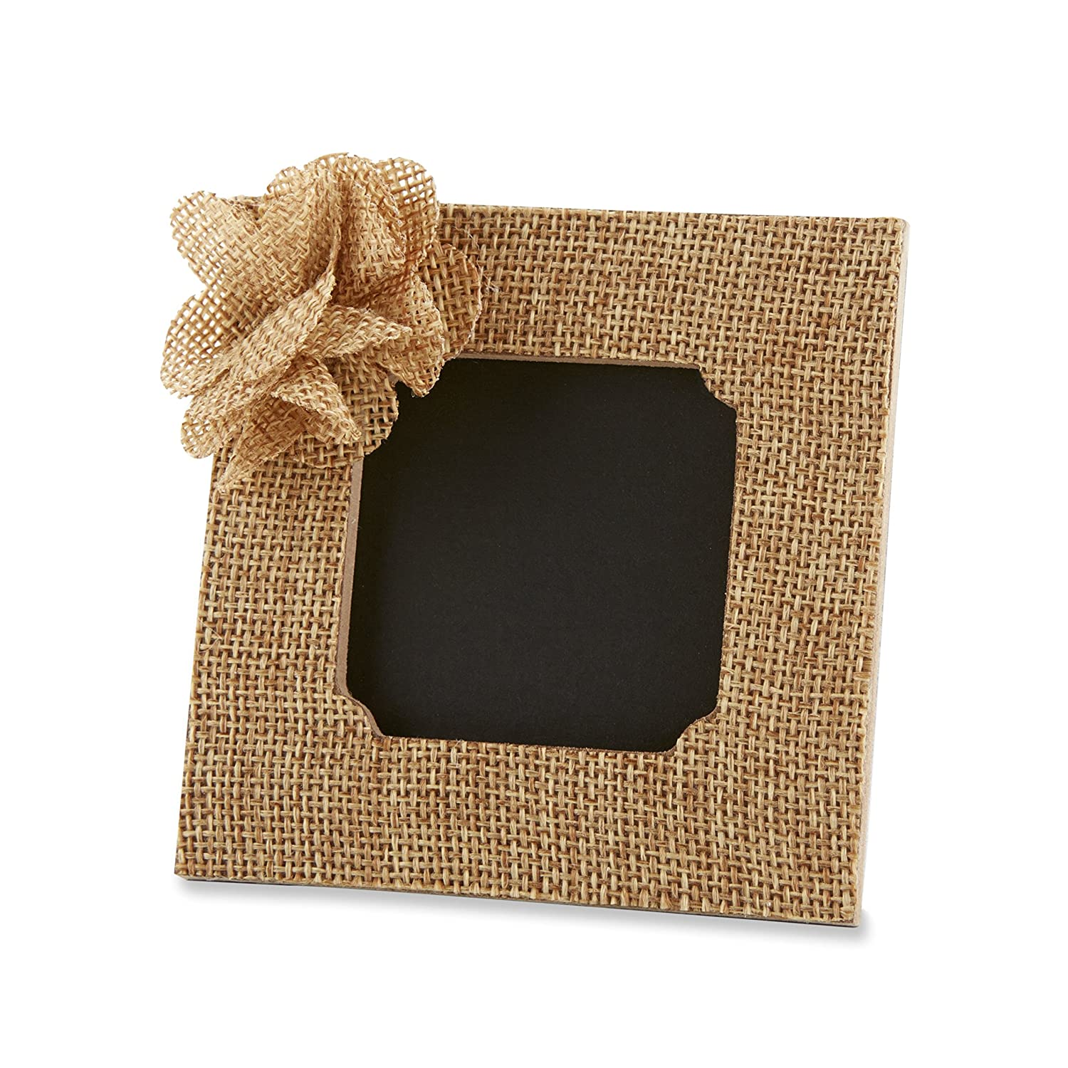 Amazon.com - Kate Aspen Rustic Rose Burlap Frame -