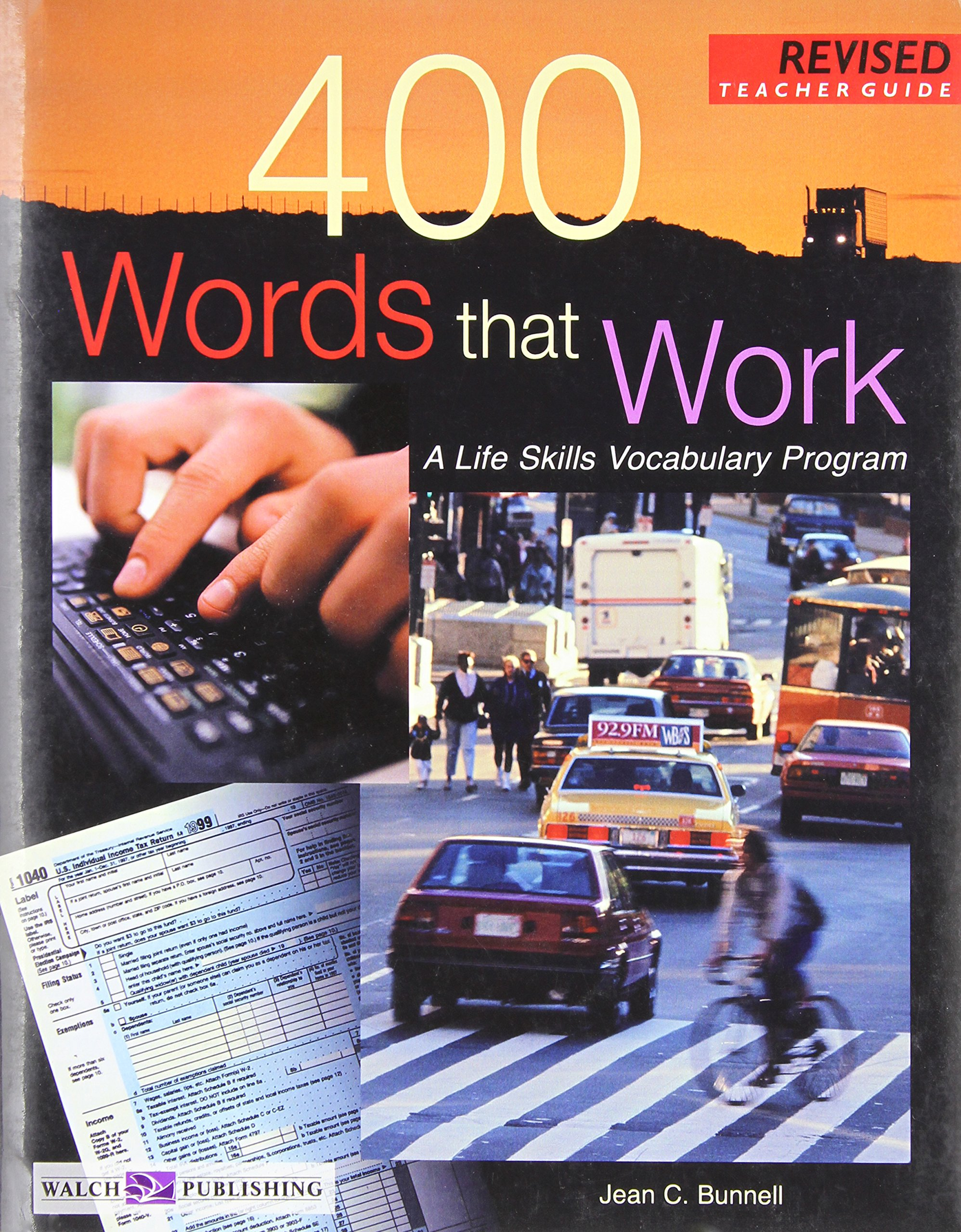 Download 400 Words That Work : A Life Skills Vocabulary Program (Teacher's Guide) PDF