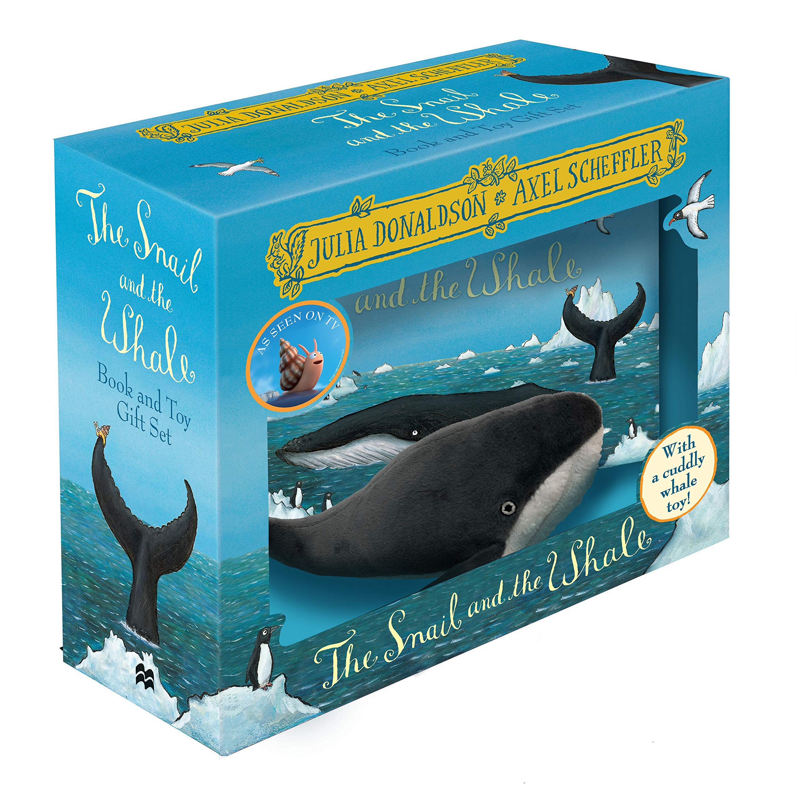 The Snail and the Whale: Book and Toy Gift Set (Book & Toy Gift Set) 54% OFF £6 @ Amazon