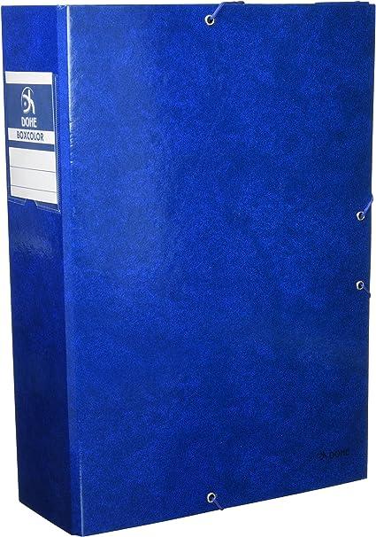 Dohe 9744 - Caja proyectos lomo, 9 cm, color azul: Amazon.es ...