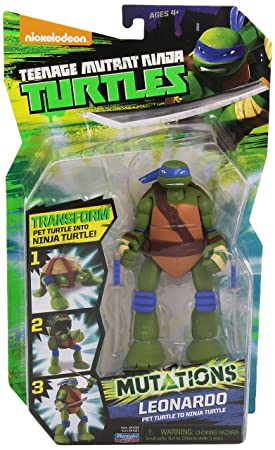 Tortugas Ninja - Figura Leonardo (Giochi Preziosi 91520)